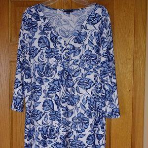 Lands' End blouse